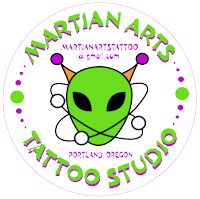 Martian Arts Tattoo