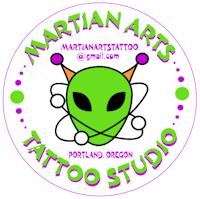 Martian Arts Tattoo